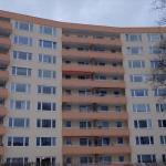 Gebäude mit Balkonen